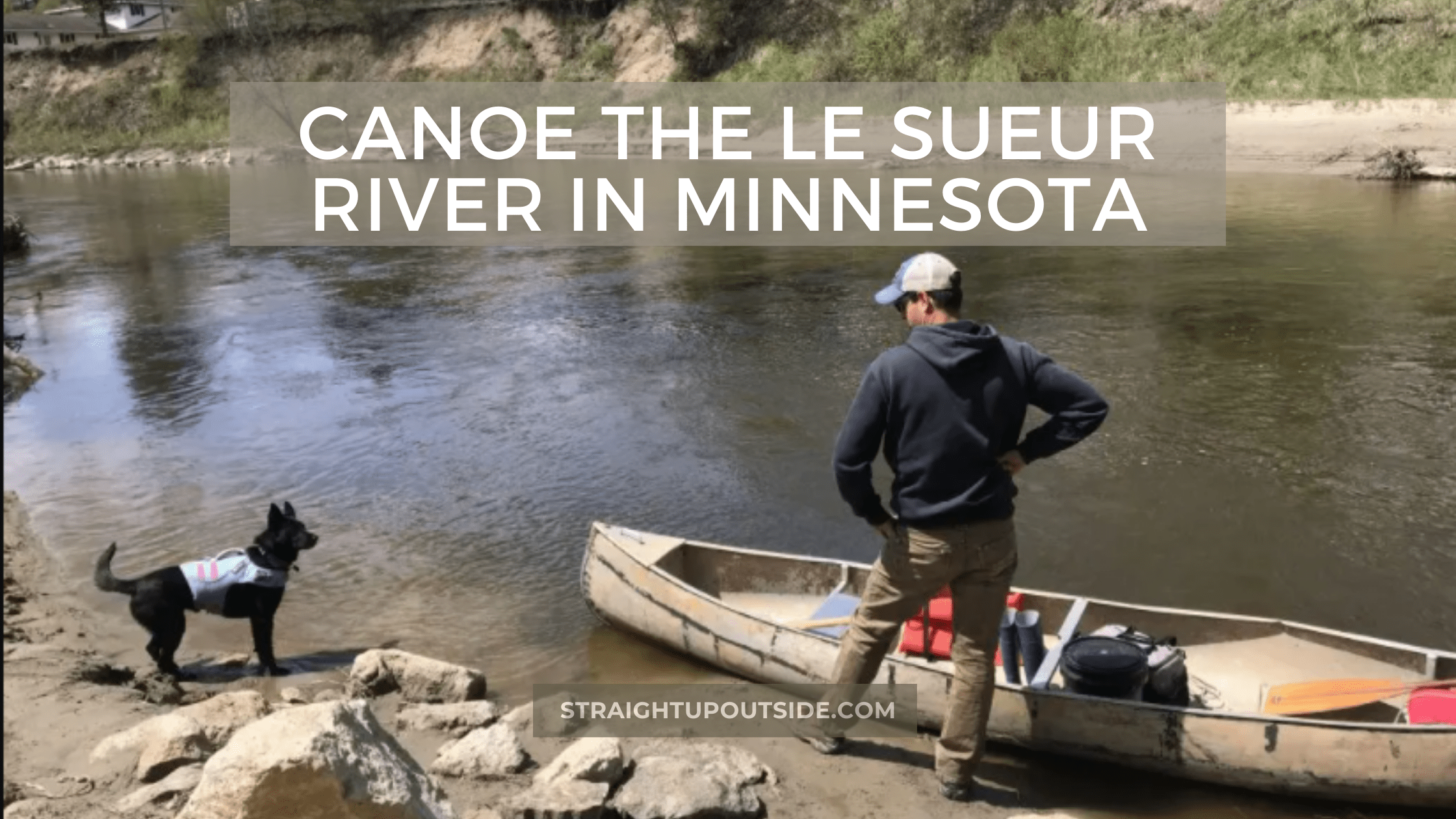 Canoe the Le Sueur River in Minnesota