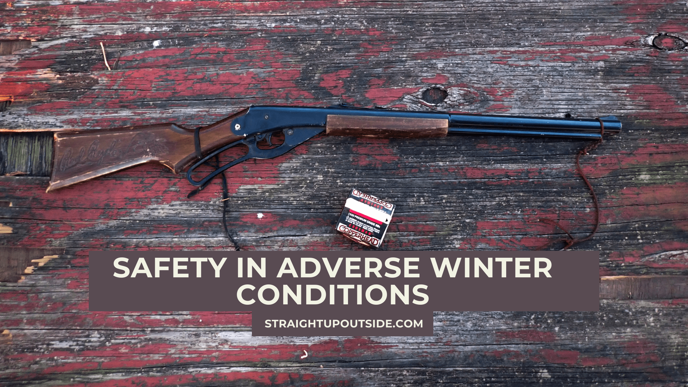 Safety in Adverse Winter Conditions