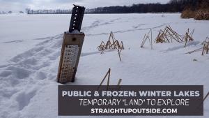 Public & Frozen: Winter Lakes