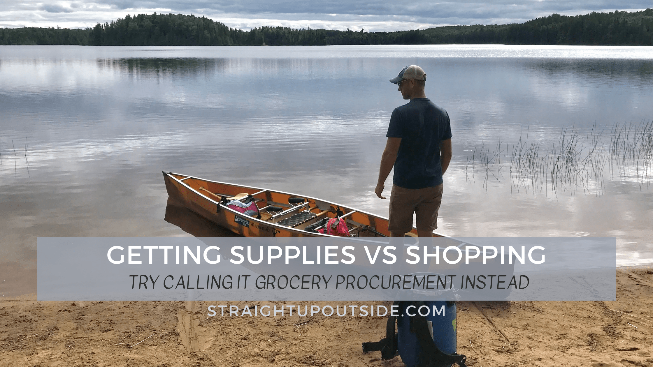 Getting Supplies vs. Shopping