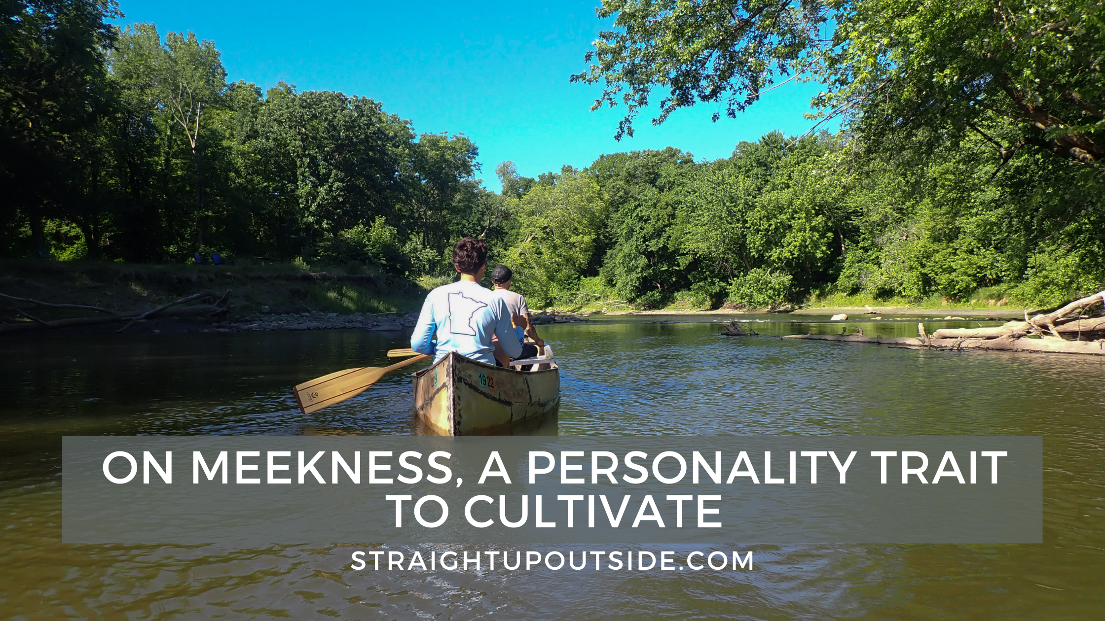 On Meekness, a Personality Trait to Cultivate