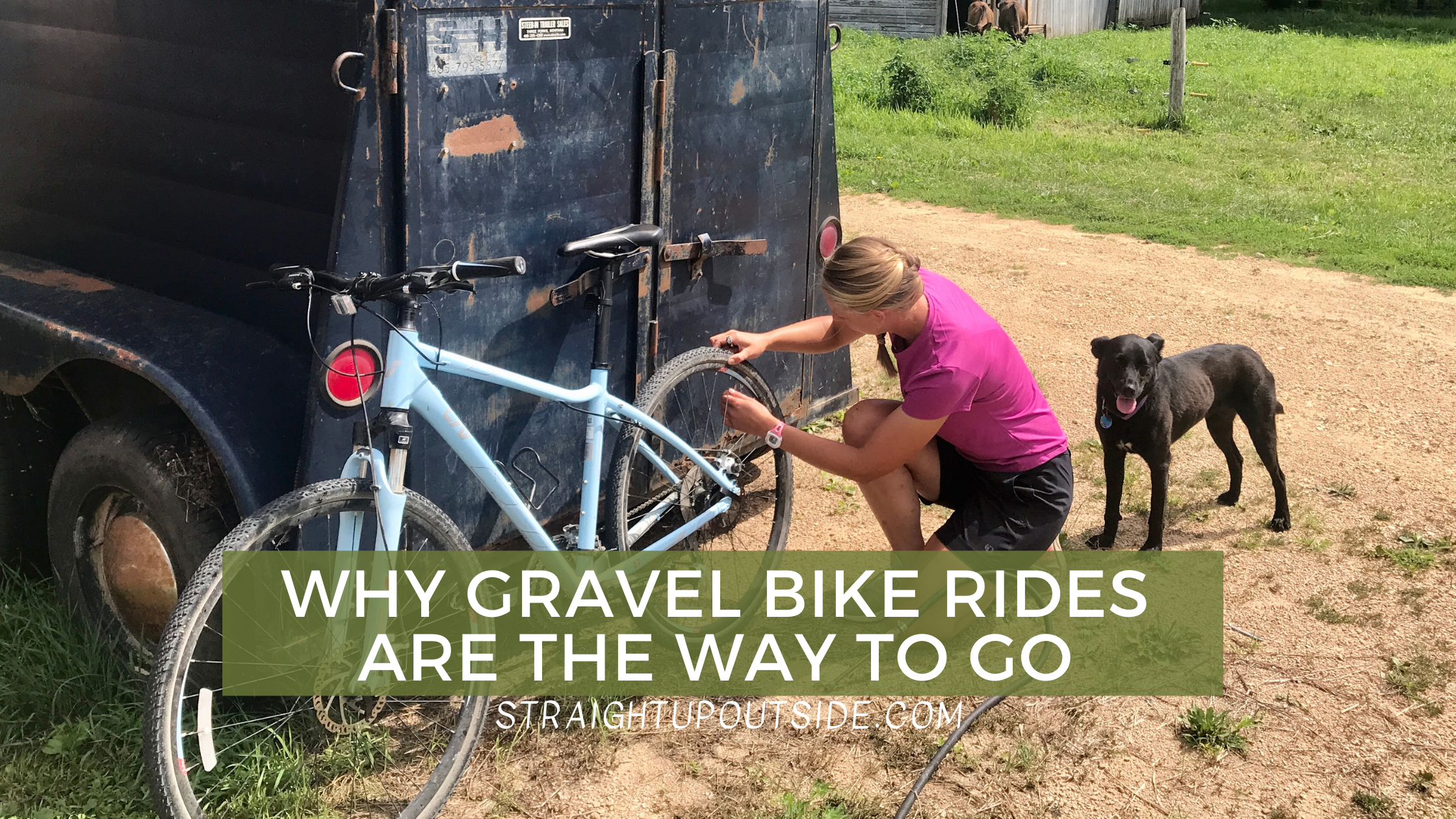 Why Gravel Bike Rides Are the Way to Go