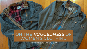 Read more about the article On the Ruggedness of Women's Clothing